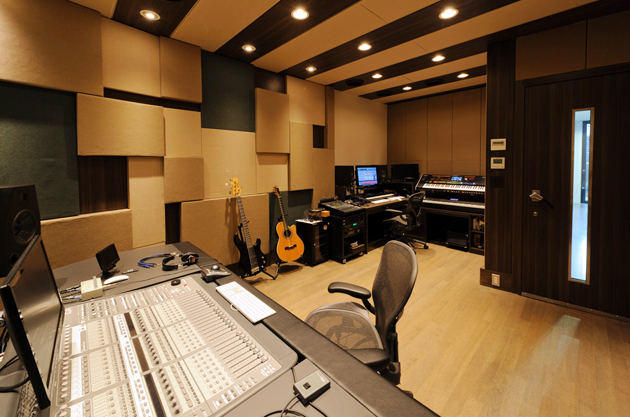 mix down room
